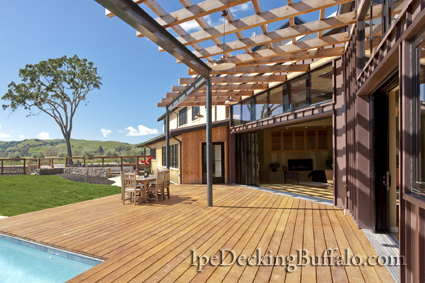 Garapa Decking Buffalo